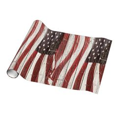 Painted #American Flag on  Wood Texture Decorating  Paper   by #redwhiteandlbue 1  #gravityx9