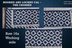 Hooked and Locked CAL – Part 2 – The crosses The Row, Coding, Free, Programming