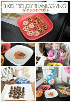 kid friendly thanksgiving recipes | thanksgiving desserts | easy thanksgiving recipes for family