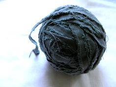 momoish - hand-dyed cotton fabric tape yarn
