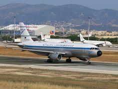 Condor Flugdienst D-AICA Airbus A320-212 774 PMI Palma de Mallorca Airport 2013 Retro cs