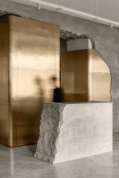 Revit Architecture, Interior Architecture, Concrete Architecture, Architecture Diagrams, Architecture Portfolio, Hanging Hammock Chair, Curved Walls, Décor Boho, Design Blogs