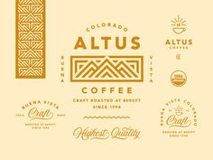 Coffee Icon Icons from GraphicRiver - Coffee Icon - Ideas of Coffee Icon - Altus Coffee Coffee Icon Ideas of Coffee Icon Altus Coffee by Jared Jacob Coffee Shop Branding, Coffee Shop Logo, Cafe Branding, Branding Design, Coffee Packaging, Coffee Icon, Coffee Coffee, Starbucks Coffee, Coffee Drawing