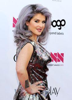 Hair Color On Pinterest Purple Hair Blonde Highlights
