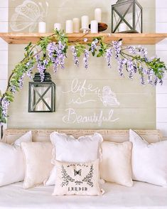 sherwin Williams willow tree Diy Wall Decor, Home Decor, Willow Tree, Chalkboard Paint, Framed Art, Frames, Table Decorations, Fun, Painting