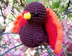 Happy Turkey Day by Bitter-Sweet - free crochet pattern