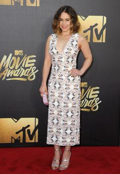 See the Best Looks From the MTV Movie Awards: Emilia Clarke