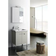 New York 2 23 Single Bathroom Vanity Set with Mirror with Price : $ 1619.99
