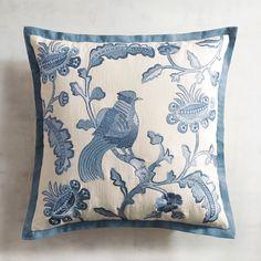 Chinoiserie Bird Pillow