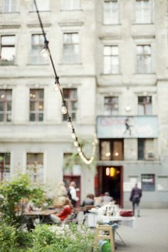 Clärchens Ballhaus in Berlin / photo by Anke Grünow