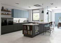 10 Key Kitchen Trends For 2019 Handleless Kitchen, Kitchen Worktop, Kitchen Cupboards, Kitchen Storage, Kitchen Island, Key Kitchen, Open Plan Kitchen, Kitchen Dining, Kitchen Ideas