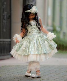 Love this Blue A-Line Dress - Infant on #zulily! #zulilyfinds