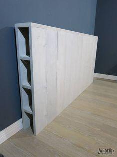Diy Storage Headboard, Diy Bed Headboard, Headboard Ideas, Headboards, Inexpensive Furniture, Home Furniture, Home Bedroom, Bedroom Decor, Lets Stay Home