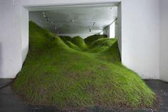 GREEN HILLS INVADE OLSO GALLERY ART Per Kristian Nygård