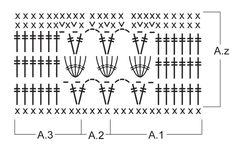 """Poncho DROPS a ganchillo, en """"Paris"""". Talla: S – XXXL. ~ DROPS Design"""