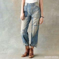 RRL メンズ デニム ジーンズ 新作アイテム!【High-Waisted Jean】 - DOUBLE RL【RRL】通販専門店 Cool Beans