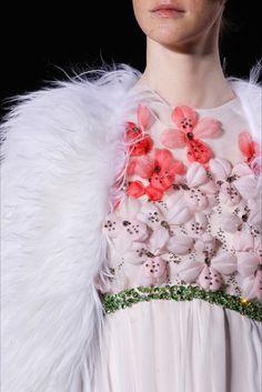 Giambattista Valli haute couture s/s 2015 Detail