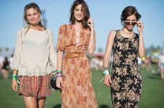 The Best Street Style From Coachella