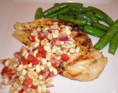Authentic+Suburban+Gourmet:+Grilled+Chicken+with+Fresh+Corn+Salsa