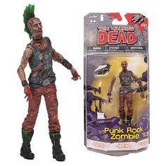 The Walking Dead Comic Series 3 Punk Rock Zombie Figure