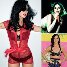 Happy birthday, Katy Perry! We're celebrating with the singer's sexiest snaps.