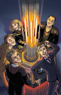 The NuWho Doctors! #DoctorWho
