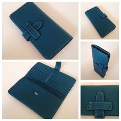 leather wallet_women_simple_leather strap