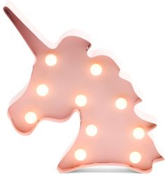 Unicorn marquee light