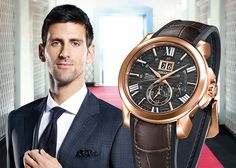Seiko Premier Kinetic Continuous Novak Djokovic Special Edition Watch