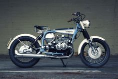 Time Traveller: The BMW R45 reimagined, 1930s style via @bikeexif