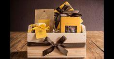 A Cau Chocolates (www.cauchocolates.com.br) lança as Yellow Boxes em três tamanhos: com 9 bombons, por R$ 68