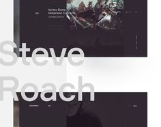 다음 @Behance 프로젝트 확인: \u201cSteve Roach\u201d https://www.behance.net/gallery/48552019/Steve-Roach