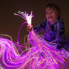 Light up a child's multi-sensory room and provide some calming visual and tactile stimulation with a UV Reactive Sensory Side Sparkle Complete Kit. Sensory Tubs, Sensory Motor, Sensory Rooms, Autism Sensory, Autism Activities, Sensory Activities, Sensory Lights, Fiber Optic Lighting, Tactile Stimulation