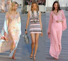 Crystal Renn And Georgia May Jagger Walk For Chanel Cruise 2010 In Saint Tropez | StyleCaster