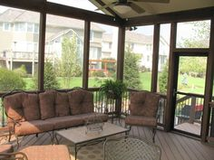 Screened In Porches | Screened porch interior designs in Kansas City | Archadeck of Kansas ...