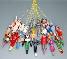 キャラクターのハッカパイプ|ビッグバン所蔵おもちゃコレクションとって出し「今昔おもちゃ展」|所蔵コレクション|ビッグバン所蔵のおもちゃコレクション|屋内遊び場 大阪府立大型児童館ビッグバン