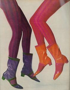 60's fashion shoes