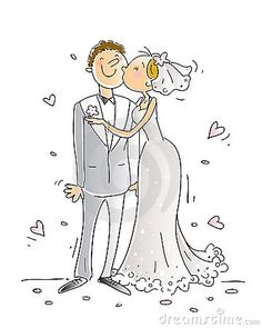 Illustration about Wedding congratulations card vector illustration, happy couple kissing, cartoon characters. Illustration of background, pink, holiday - 8103416 Wedding Images, Wedding Cards, Wedding Congratulations Card, Wedding Illustration, Digital Stamps, Just Married, Cartoon Styles, Wedding Couples, Cartoon Characters