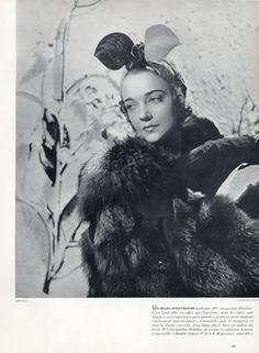 Caroline Reboux (Millinery) 1937 Jacqueline Delubac, Harry Meerson
