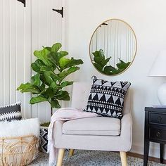 TARGET / Scandinavian Chair and Décor Living Room Nook / soft & modern with simple patterns Living Room Nook, Living Room Decor, Bedroom Decor, Design Bedroom, Target Living Room, Target Bedroom, Cozy Living, Simple Living, Living Rooms
