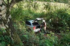 Verkehrsunfall: Blick in den Rückspiegel sichert schnelle Rettung