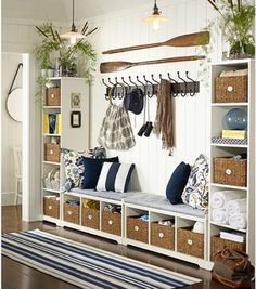 Samantha Entryway Components - contemporary - storage and organization - by Pottery Barn