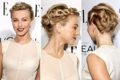 Julianne Hough's Romantic Twisted Braid