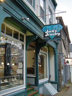 Jack's Jewelry, Main St, Bar Harbor
