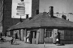 Warszawa - ulica Targowa róg Skaryszewskiej (1960)