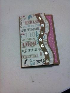 Cricut, Symbols, Letters, Home Decor, Amor, Paper Crafts, Paper Envelopes, Projects, Decoration Home