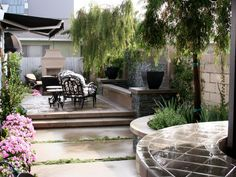 Smart patio design, beautiful hardscaping and stylish decor combine to create perfect outdoor spaces for warm-weather living.