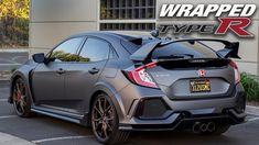 2017 HONDA Civic Type R | VINYL WRAP