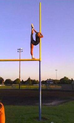 :) gymnast beat football players any day!
