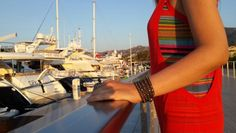 Beautiful Moorea handmade wrap bracelets with semi prexious stones and swarovski crystals  www.mooreastore.com